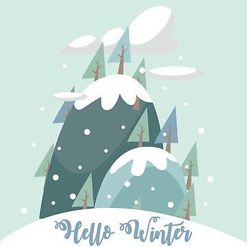 Hello Winter.Christmas.New Year.Gifts.Kids. Family by Mia-Kara