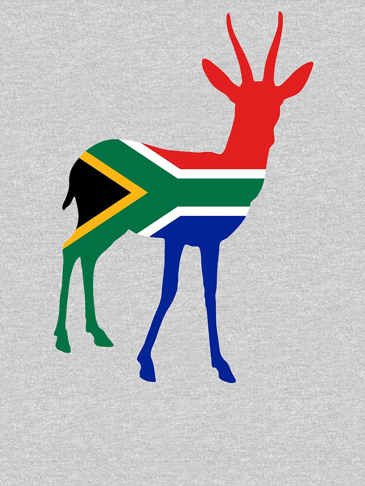 Flag Springbok of South Africa by fourretout