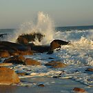 October Waves lll by christiane