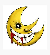 Scary Moon - Soul Eater Photographic Print