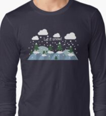 Let It Snow.Awesome Winter Gifts.Christmas.NewYear.Winter T-Shirt