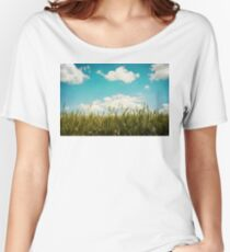 Wheat Field Women's Relaxed Fit T-Shirt