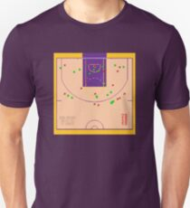 Kobe Bryant 81 points Shot Chart Unisex T-Shirt