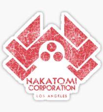 Nakatomi Corporation (Die Hard) Sticker