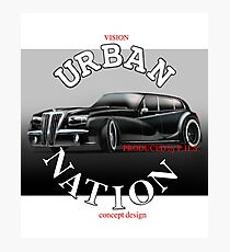 Car design creations URBAN NATION Brand								 Photographic Print