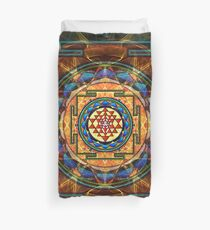 The Sri Yantra - Sacred Geometry Duvet Cover