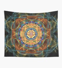 The Sri Yantra - Sacred Geometry Wall Tapestry