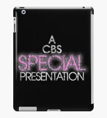 A CBS SPECIAL PRESENTATION iPad Case/Skin