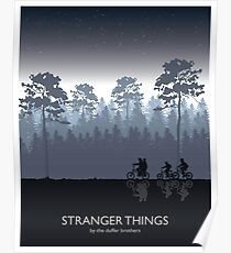 Stranger Things Tribute Art Poster