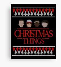 Christmas Things - Funny Parody Canvas Print