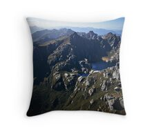 Western Arthurs Range, South-west Tasmania Throw Pillow