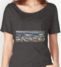 Niagara - American And Horseshoe Falls Women's Relaxed Fit T-Shirt
