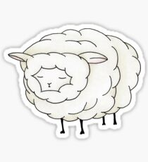 fluffy sheep Sticker