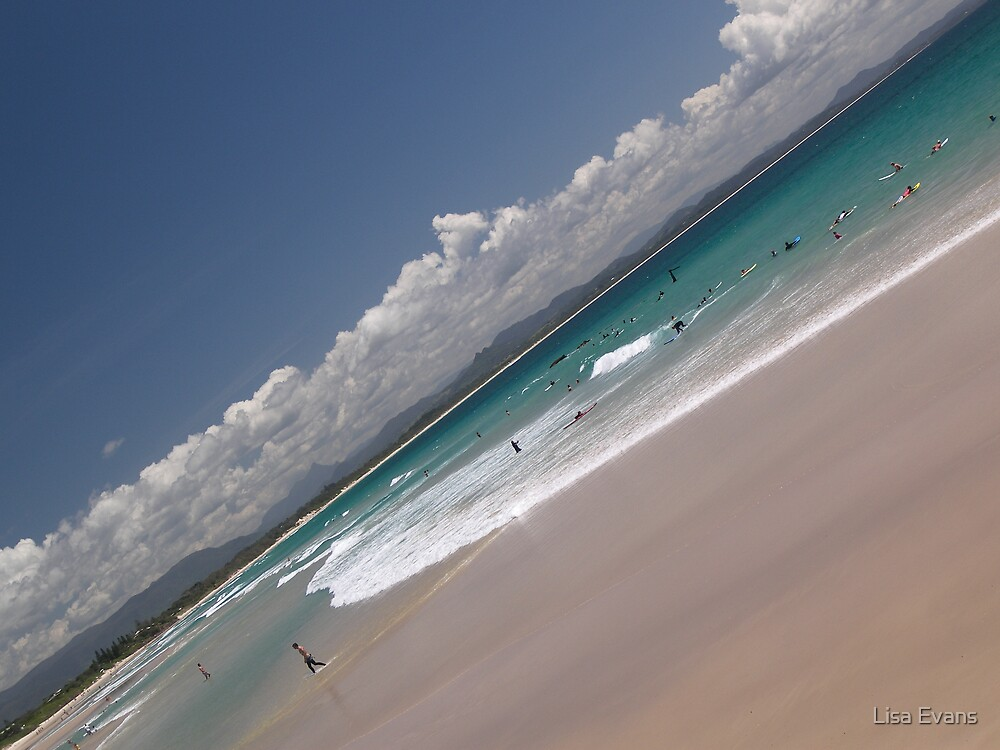Byron Bay, New South Wales by Lisa Evans