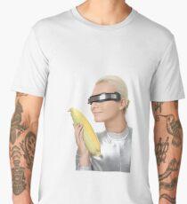 Cyberlady Gazing at Corn Men's Premium T-Shirt