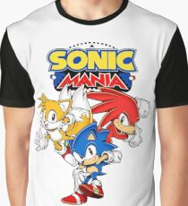 Sonic Mania Design Graphic T-Shirt