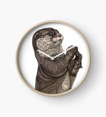 Infatuated Otter Clock