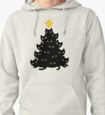 Meowy Christmas Pullover Hoodie