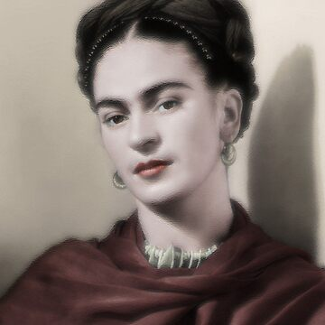 Frida Kahlo -Oil by PatSeg