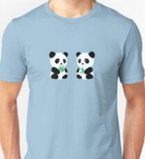 Two Pandas Unisex T-Shirt