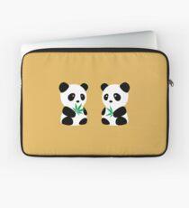 Two Pandas Laptop Sleeve