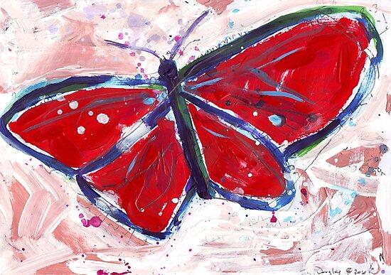 Butterfly by John Douglas