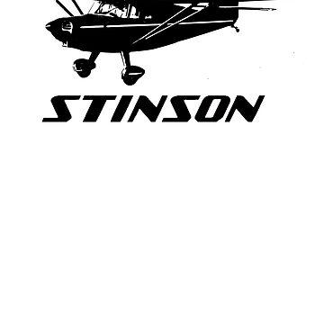 Stinson Aircraft with Logo by cranha