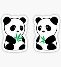 Two Pandas Sticker
