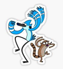 Ooooooh - Funny Regular Cartoon Show Sticker Shirt Tote Pillow Sticker