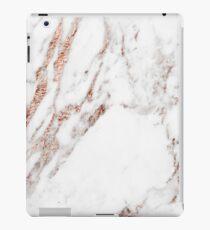 Rose gold vein marble iPad Case/Skin