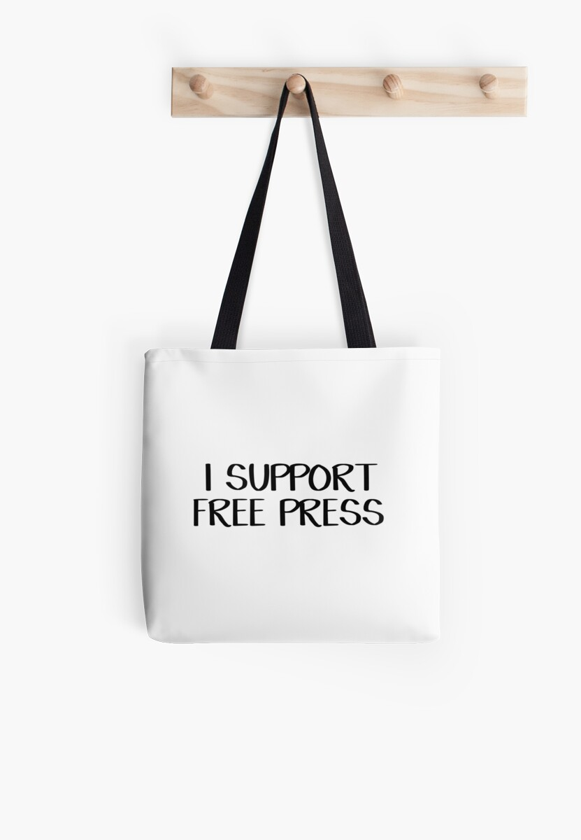 I support free press by allthetees