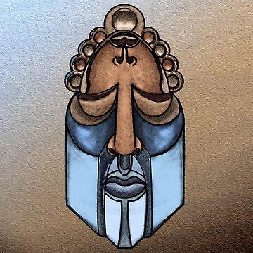Afro Bishop by erickwiz