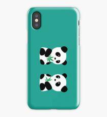 Two Pandas iPhone Case