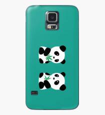 Two Pandas Case/Skin for Samsung Galaxy