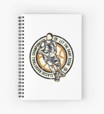 CLASSIC BASKETBALL - Retro Basketball Streetball Shirt Spiral Notebook