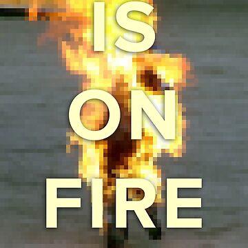 ...is on fire by trshmcha