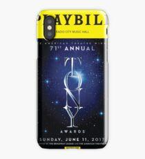 2017 Tony Awards Playbill iPhone Case/Skin