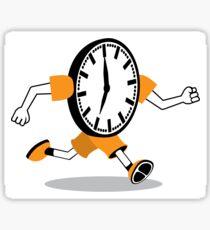 Running Clock Sticker