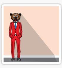 Bear Man Sticker