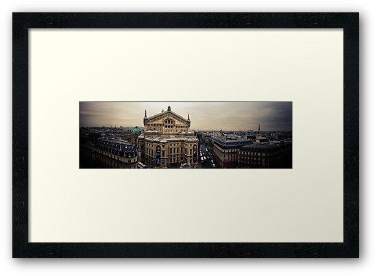 Paris Opera Panorama by lesslinear