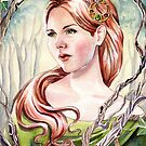 Tanglewoods lady by Nicole Cadet