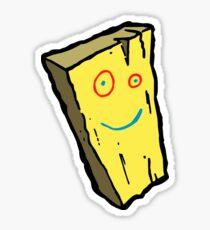 Plank Drawing Remake - Cute Retro Cartoon Ed, Edd N' Eddy Sticker T-Shirt Drawing Sticker