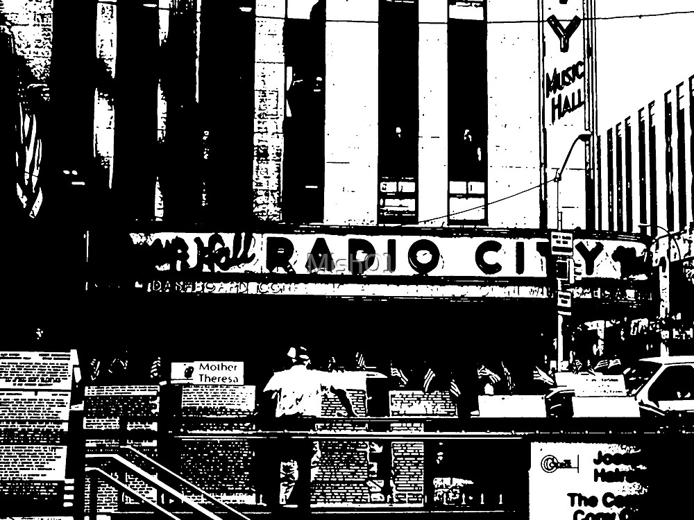 Radio City- Stamp  by Mish01