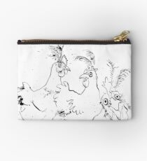 Three French Hens Studio Pouch