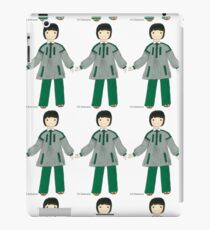 Costume du POITOU, France iPad Case/Skin