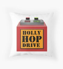 HOLLY HOP DRIVE (Red Dwarf) Throw Pillow