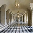 Lower Gallery - Versailles Palace by dunawori