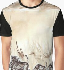 An African scene Graphic T-Shirt