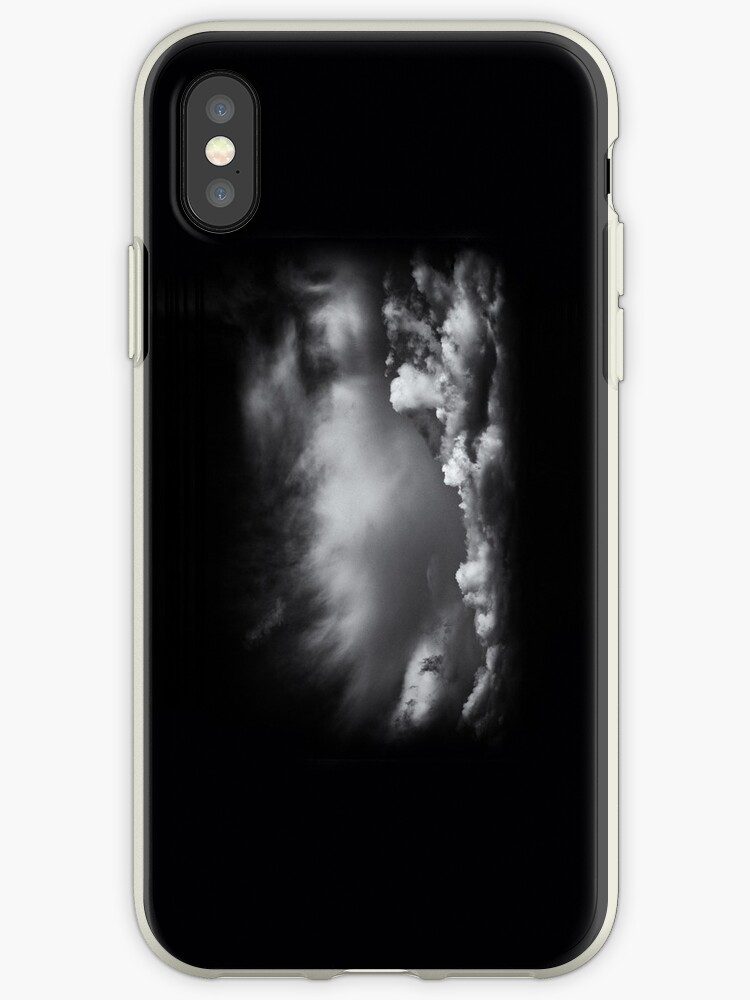 iPhone Case - BW - Clouds by lesslinear