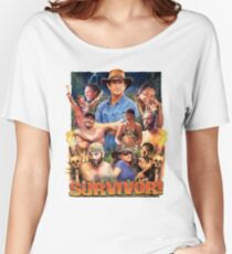 Survivor Epic Poster Women's Relaxed Fit T-Shirt